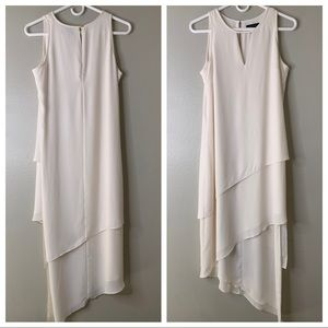 White House Black Market Sheer Layered  Dress 4